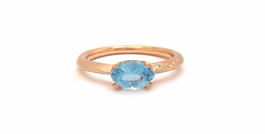 The Next Chapter_Custom_Ring_Rose Gold_Aquamarine_POPPYOR Custom_2