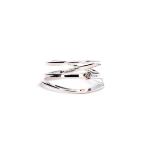 wrap ring silver